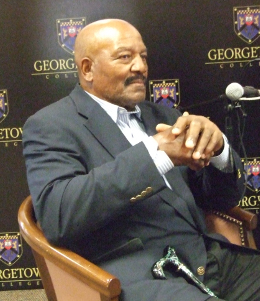 Jim Brown at interview