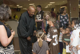 Jim Brown at Lexington, KY airport