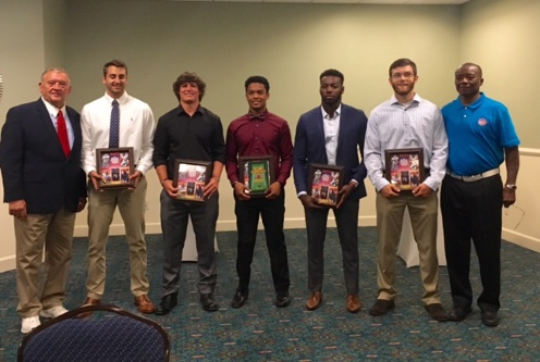 Mid-South Conference Blanton Collier Football Student-Athlete Leading with Character Award