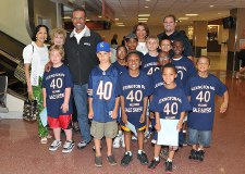 Gale Sayers and PALS kids